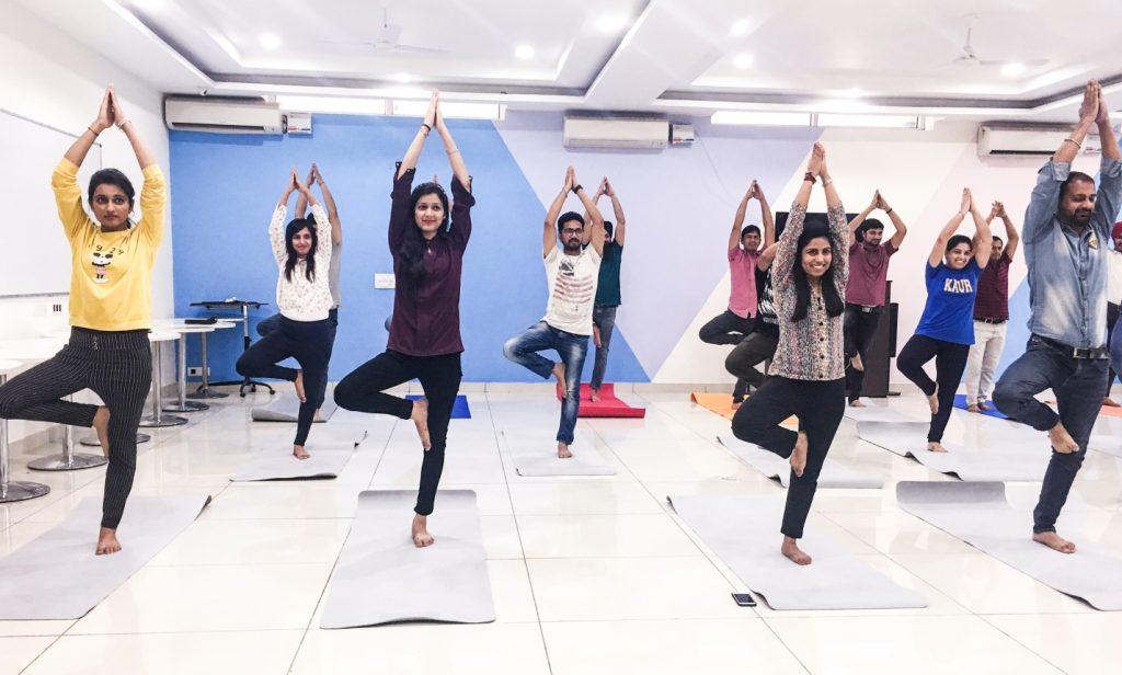 AblySoft yoga session